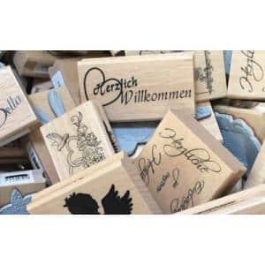 Motivstempel-Stempelholz