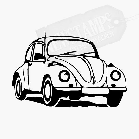 Motivstempel Käfer Auto