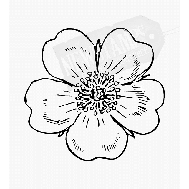 Florales Motiv großes Blümeli