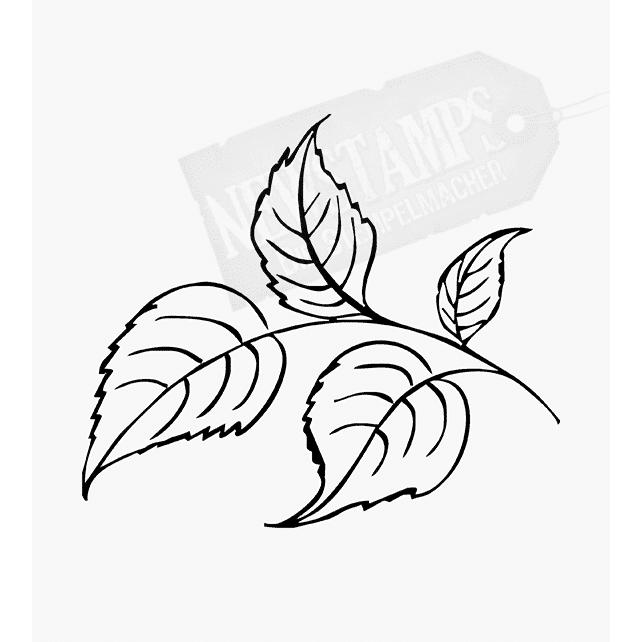 Florales Motiv Blätter