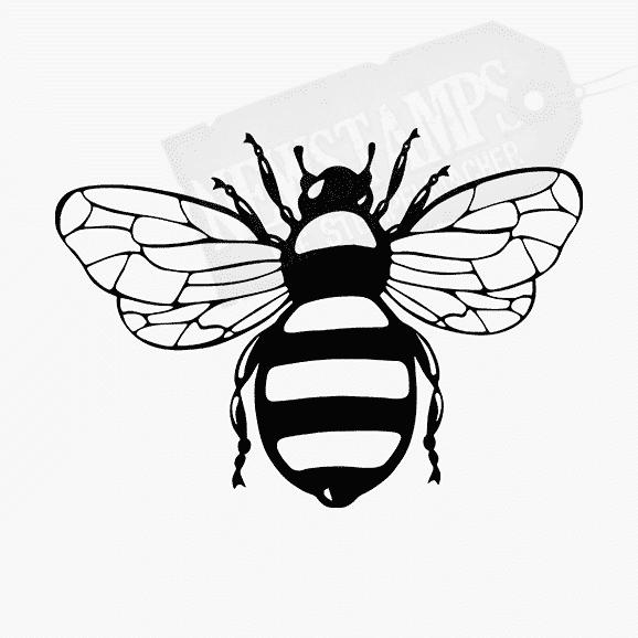 Tierstempel Biene