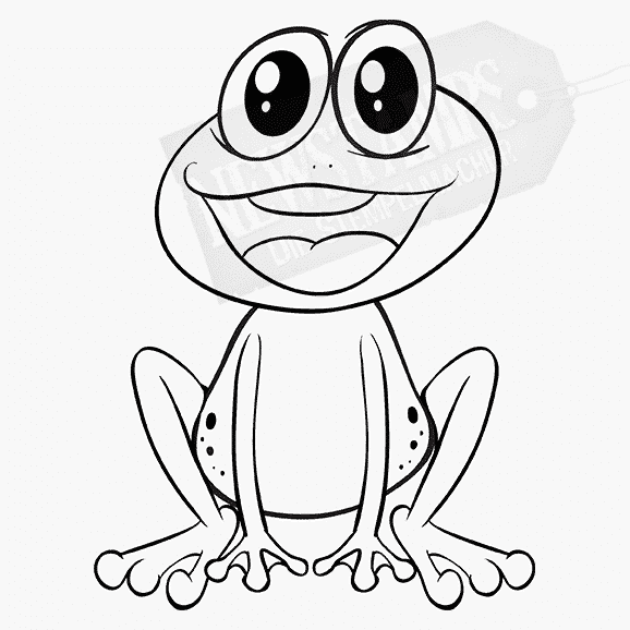 Motivstempel Frosch