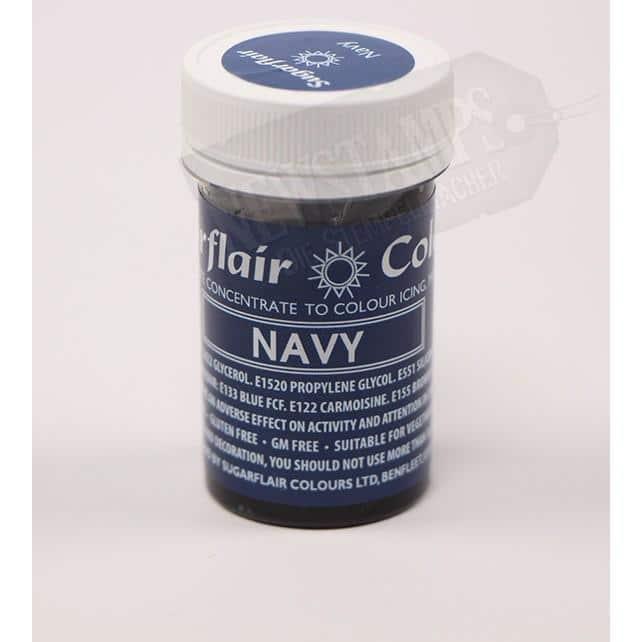 Lebensmittelfarbe Navy