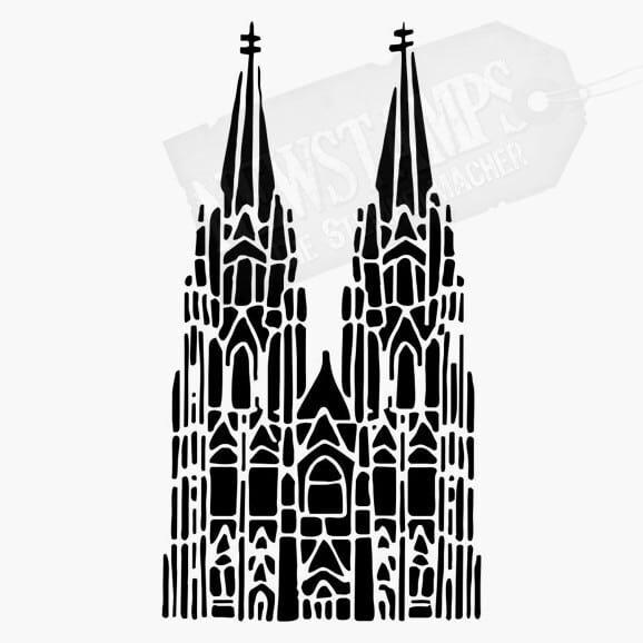 Motivstempel Kölner Dom