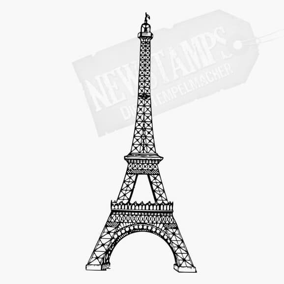 Motivstempel Eiffelturm