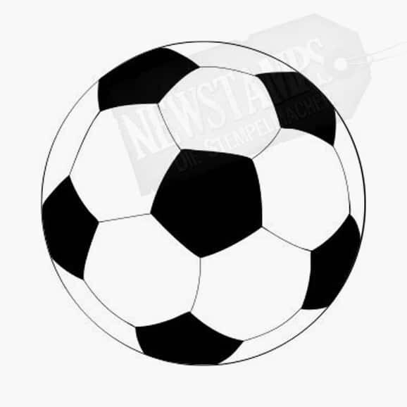 Motivstempel Fussball
