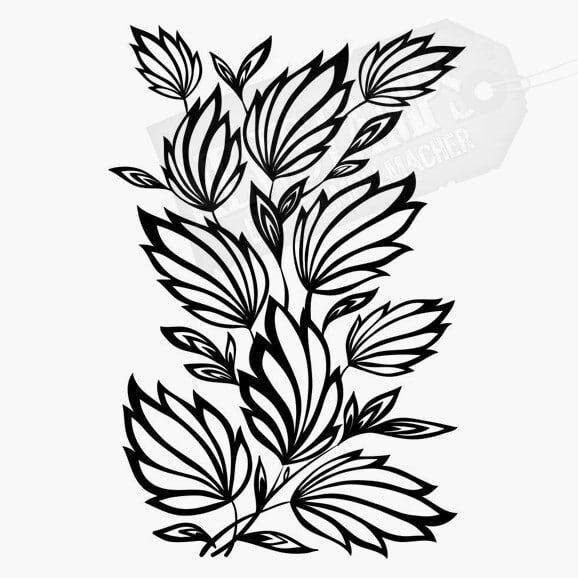 Florales Motiv Florales Muster
