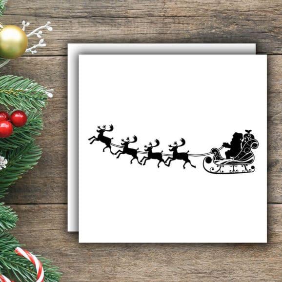 W015_Weihnachtsmann_mit_Rentieren_WV_dunkler_Holzhintergrund