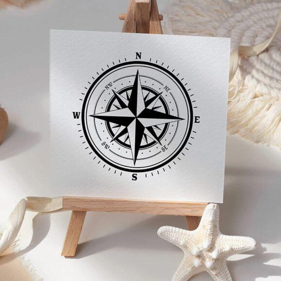 m022-kompassrose-newstamps-webshop-stempel-staffelei-maritim